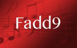 Fadd9 Chord